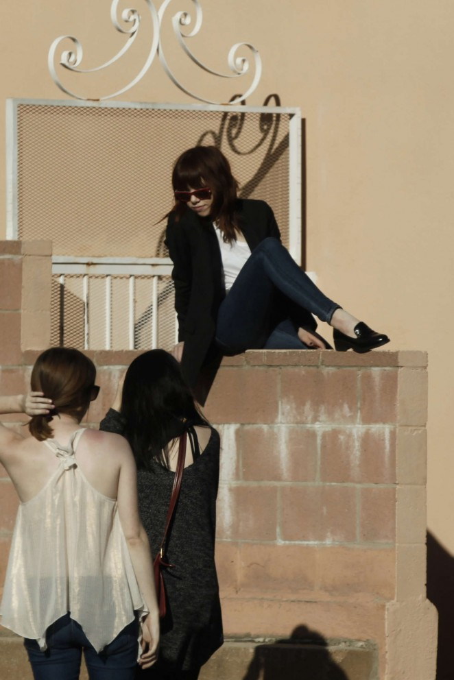 Carly Rae Jepsen in Tight jeans -21