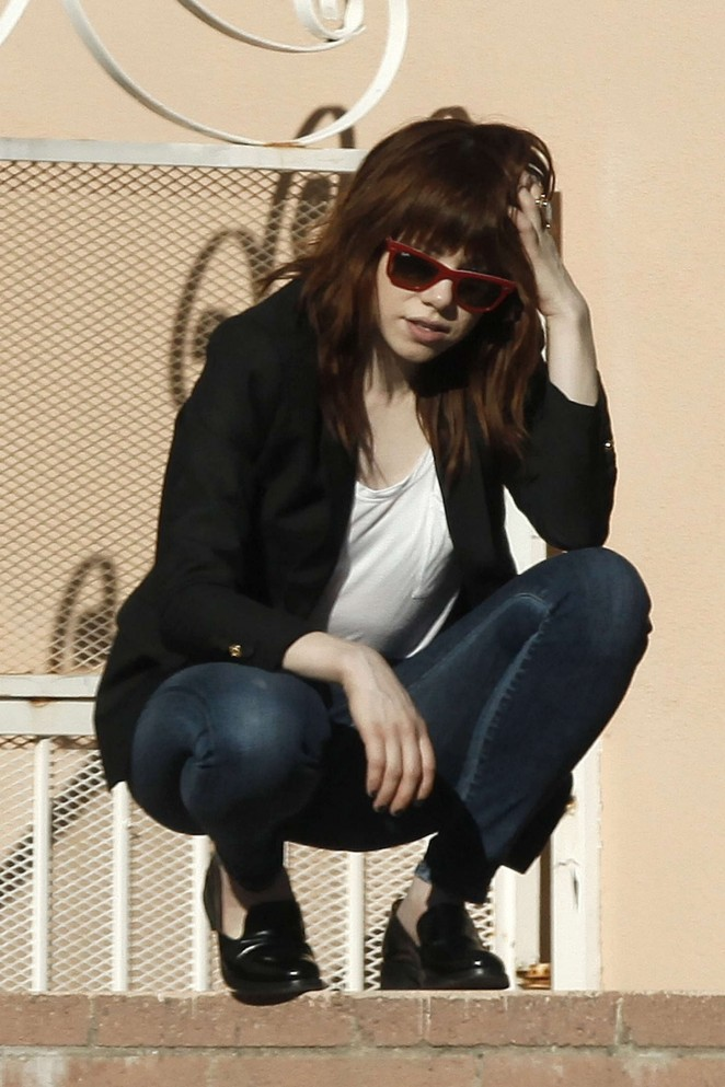 Carly Rae Jepsen in Tight jeans -30