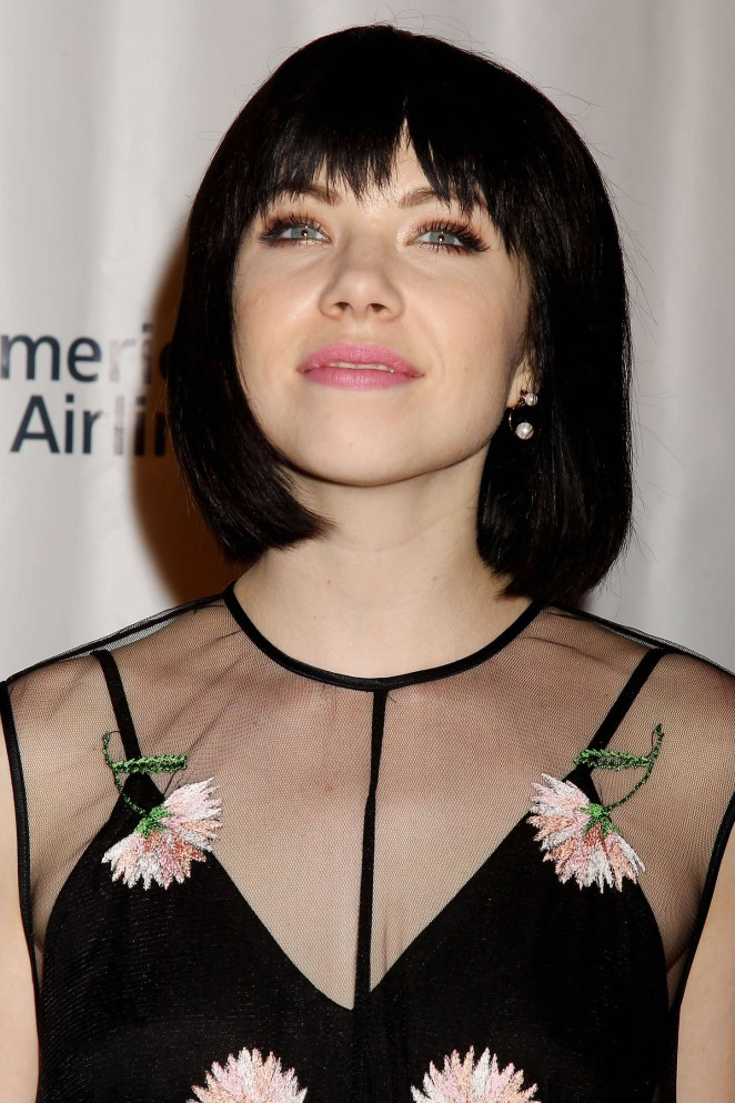Carly Rae Jepsen - Songwriters Hall of Fame 46th Annual Induction and Awards in NYC