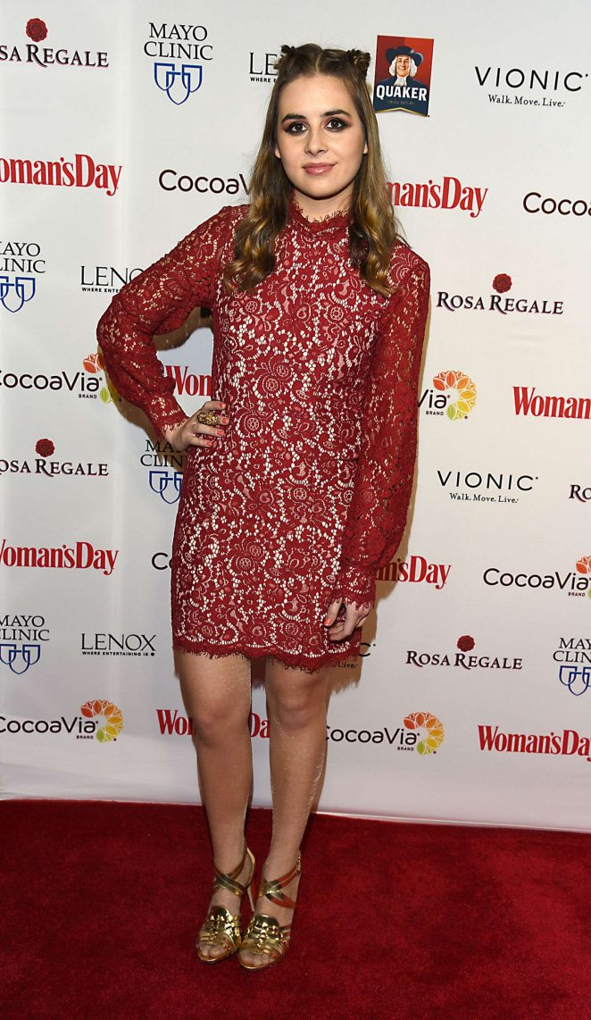 Carly Rose Sonenclar - Woman's Day 14th Annual Red Dress Awards in New York