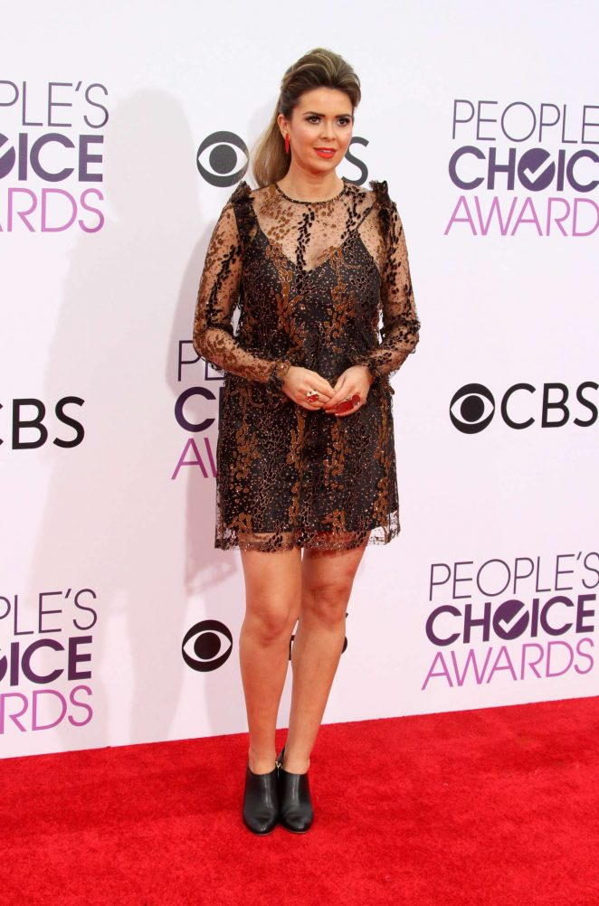 Carly Steel - 2017 People's Choice Awards in Los Angeles