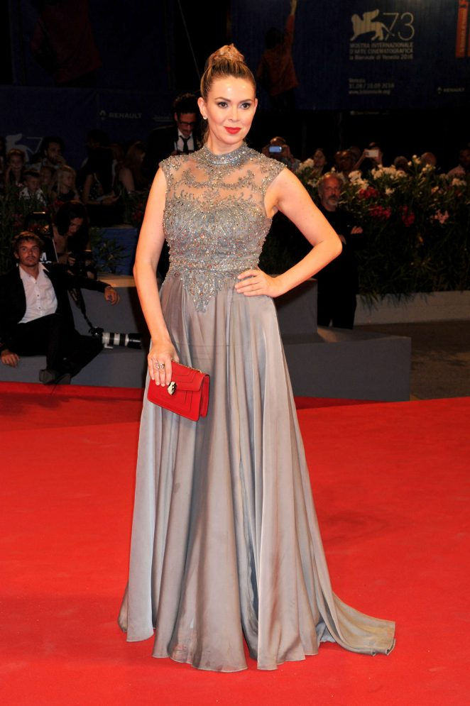 Carly Steel: Arrival Premiere at 73rd Venice Film Festival -01