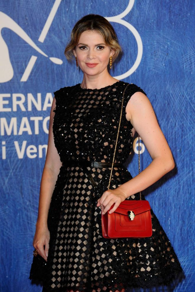 Carly Steel - 'Franca Chaos and Creation' Premiere at 73rd Venice Film Festival in Italy