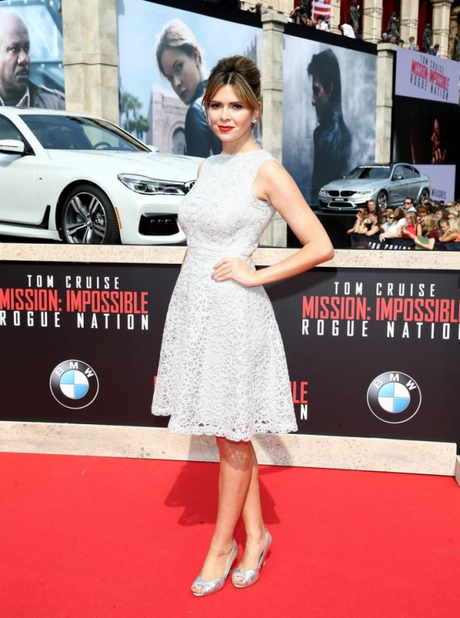Carly Steel - 'Mission: Impossible - Rogue Nation' Premiere in Vienna