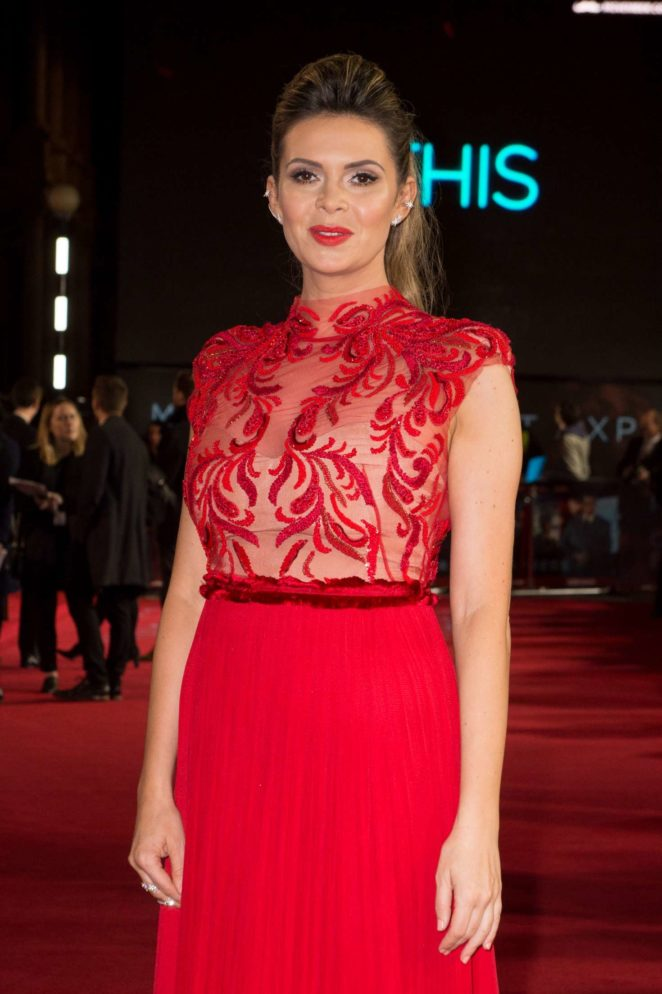 Carly Steel - 'Murder on the Orient Express' Premiere in London
