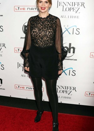 Carly Steel - Opening night of Jennifer Lopez's 'All I Have' Residency in Las Vegas