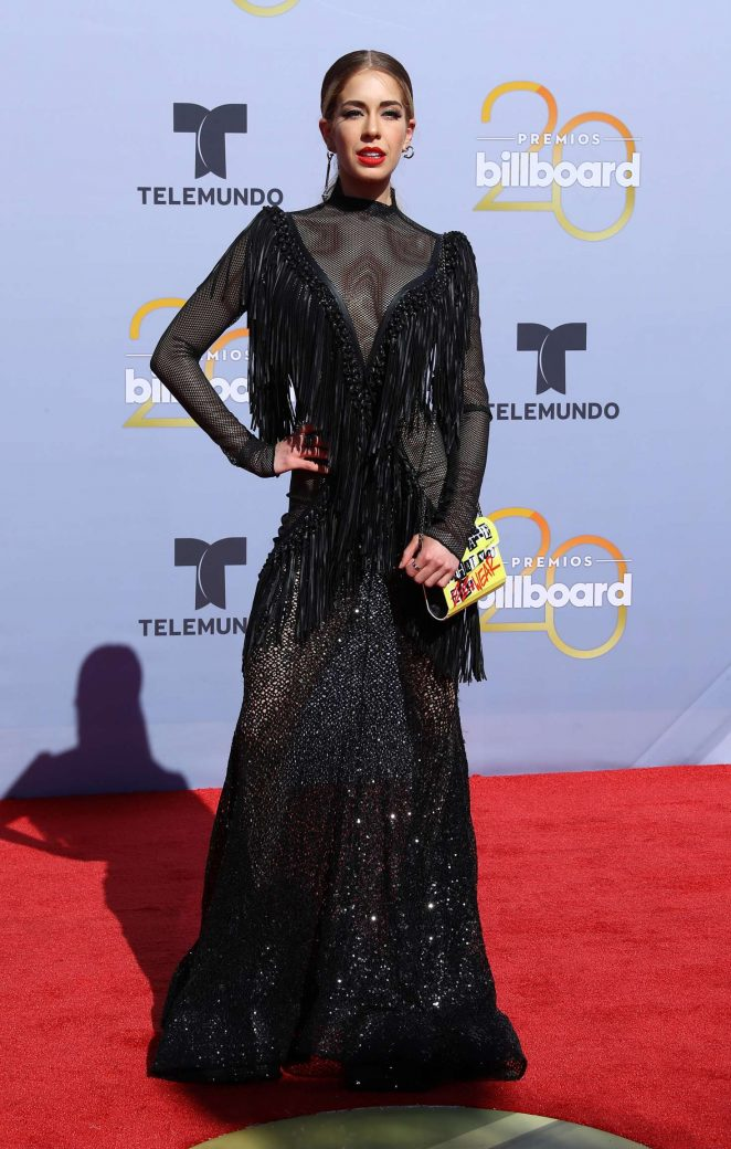 Carmen Aub - 2018 Billboard Latin Music Awards in Las Vegas