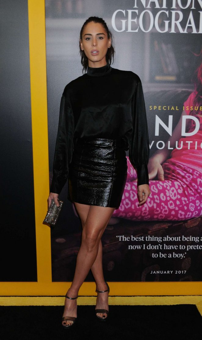 Carmen Carrera – Gender Revolution: A Journey With Katie Couric Premiere in New York