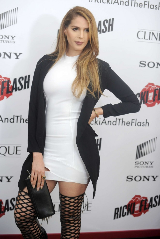 Carmen Carrera - 'Ricki And The Flash' Premiere in NYC