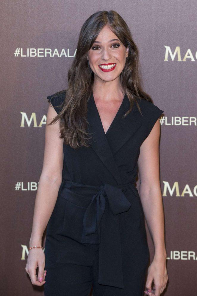 Carmen Corazzini - Magnum New Campaign Presentation in Madrid