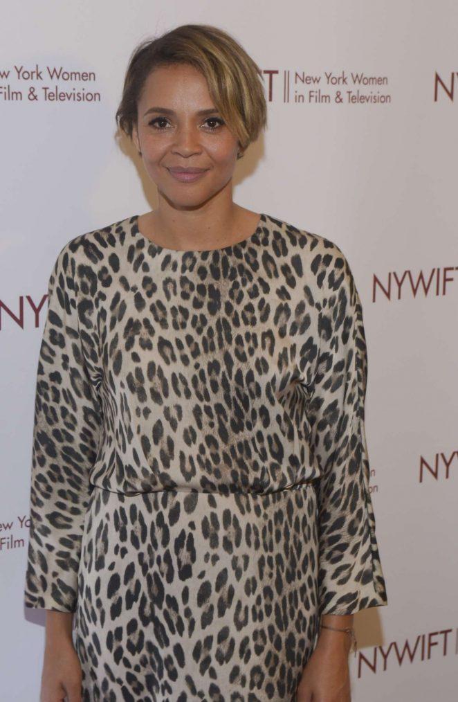 Carmen Ejogo - New York Women in Film and Television Designing Women Awards Gala in NY