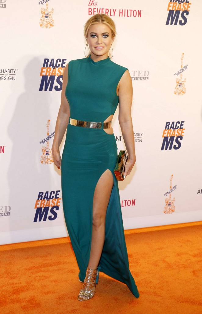 Carmen Electra – 23rd Annual Race To Erase MS Gala in Beverly Hills