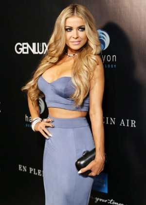 Carmen Electra - En Plein Air fundraiser in Orange Count