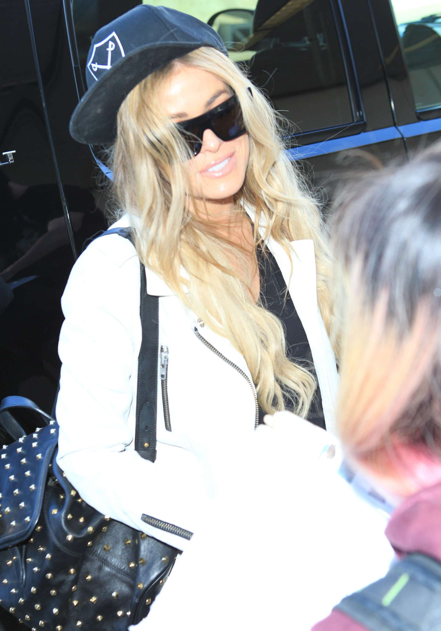 Carmen Electra Booty in Jeans at LAX -07   GotCeleb
