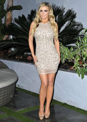 Carmen Electra in Tight Mini Dress in Beverly Hills