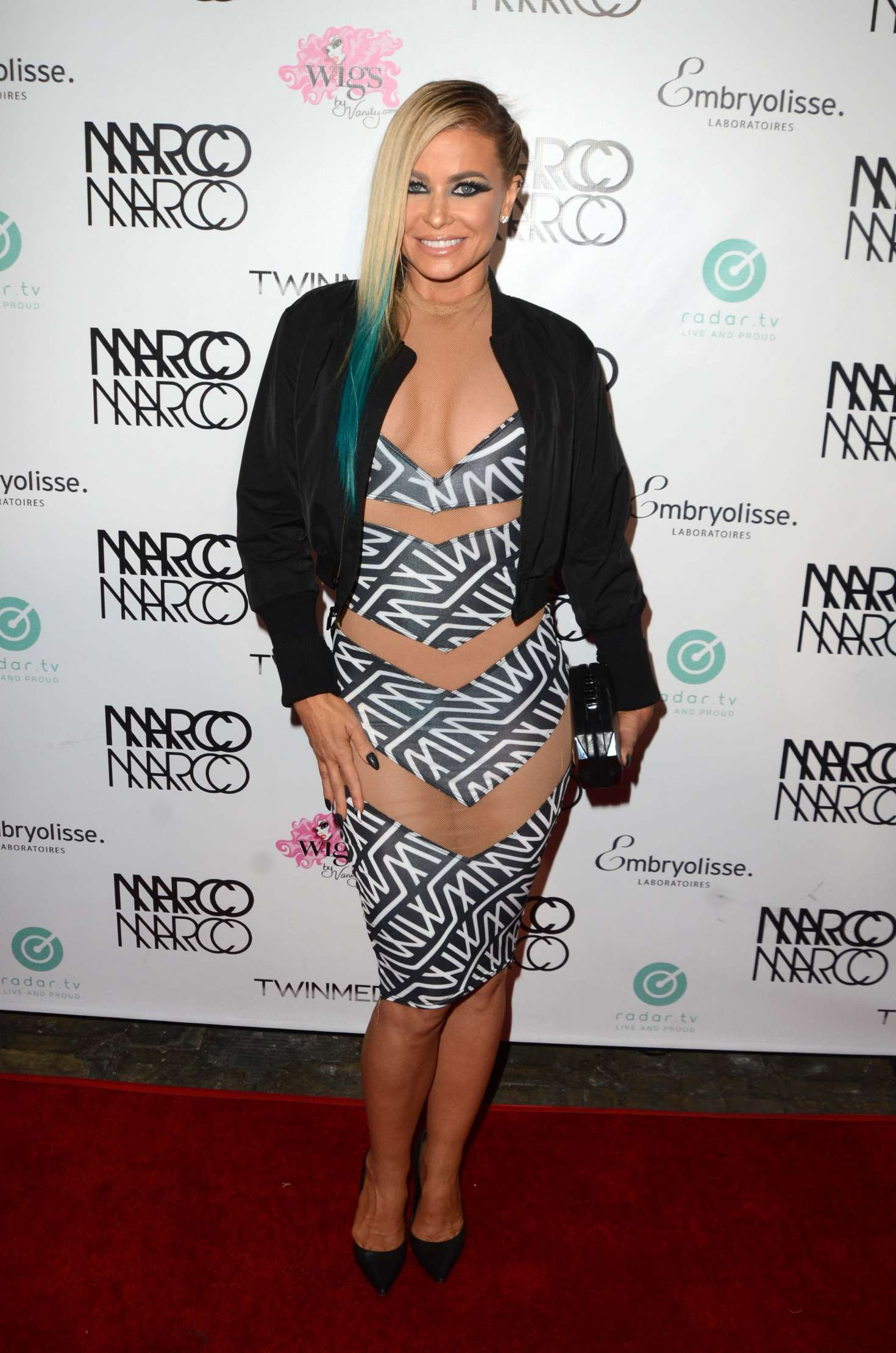 Carmen Electra - Marco Marco Fashion Show in Los Angeles