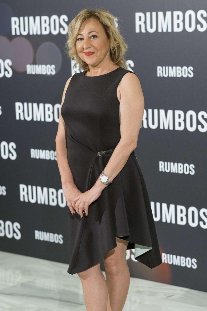 Carmen Machi - 'Rumbos' Photocall in Madrid