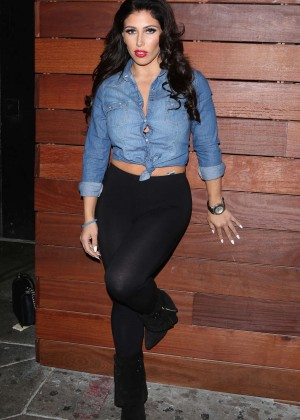 Carmen Ortega - Leaves the Roxy in West Hollywood