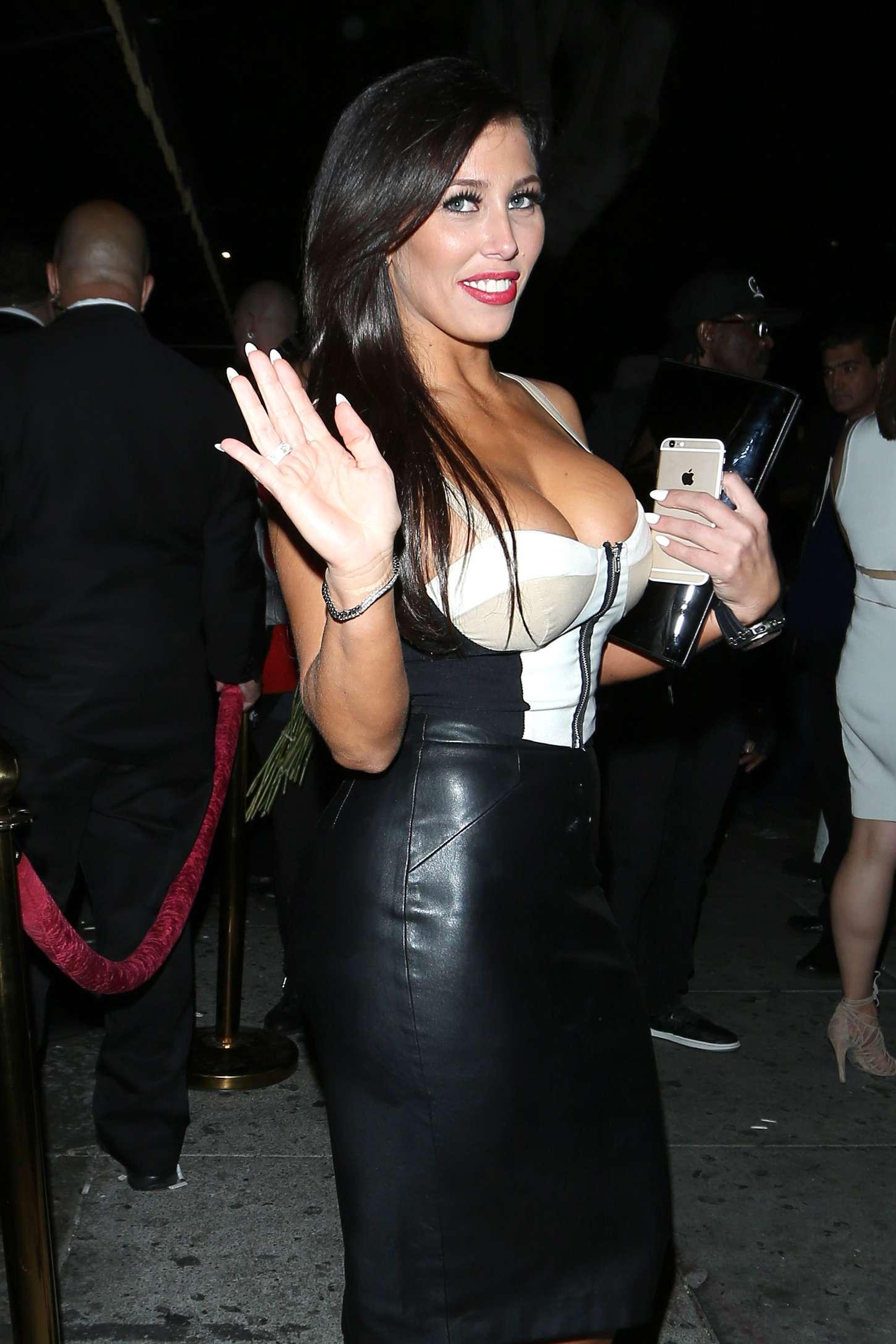 Carmen Ortega - Leaving Warwick Nightclub in LA