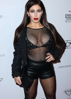 Carmen Ortega - NHL All Star Party 2017 in Los Angeles