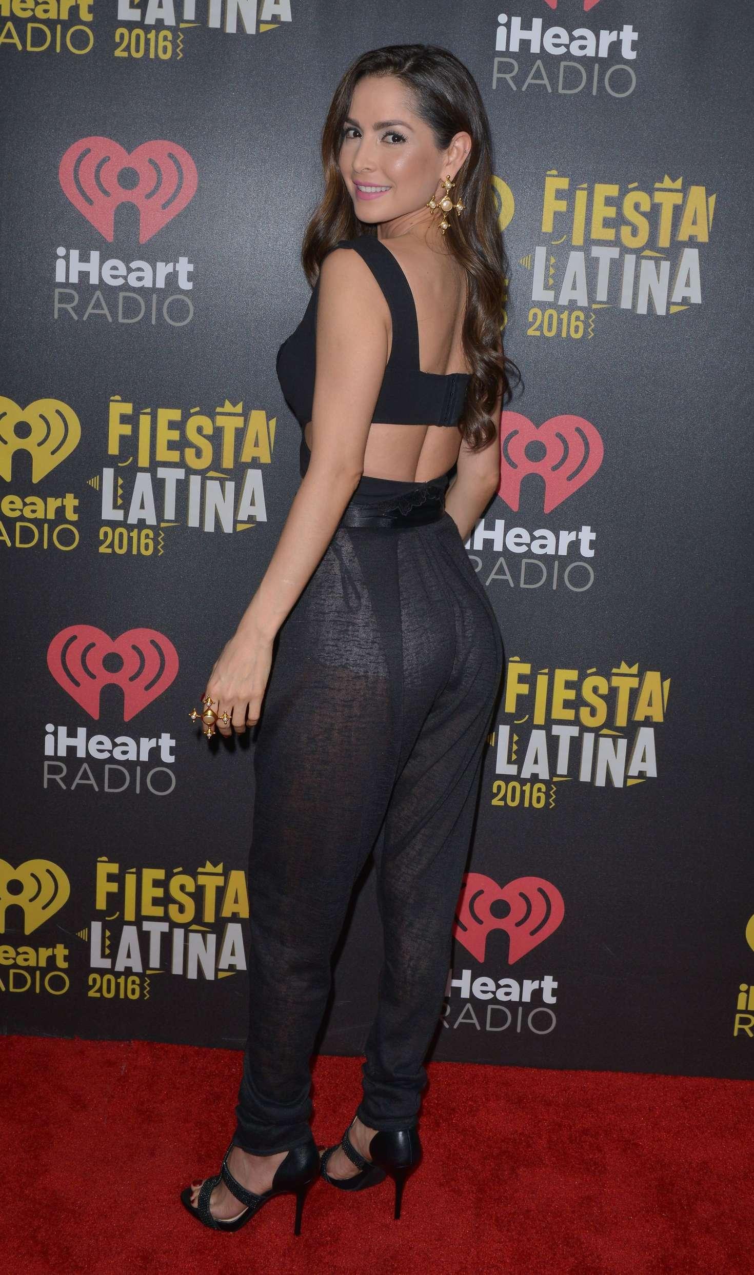 Carmen Villalobos Iheart Radio Fiesta Latina 2016 03