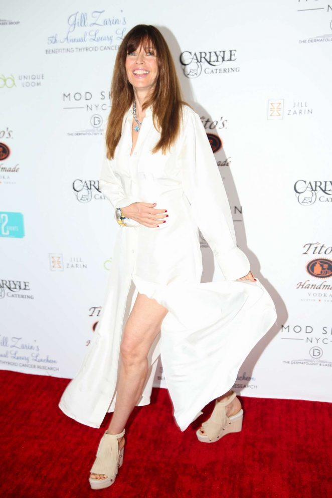 Carol Alt - Jill Zarin's 5th Annual Luxury Luncheon in Southampton