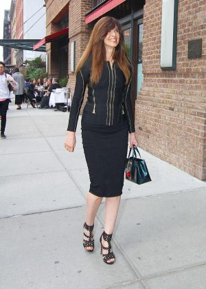 Carol Alt out in New York
