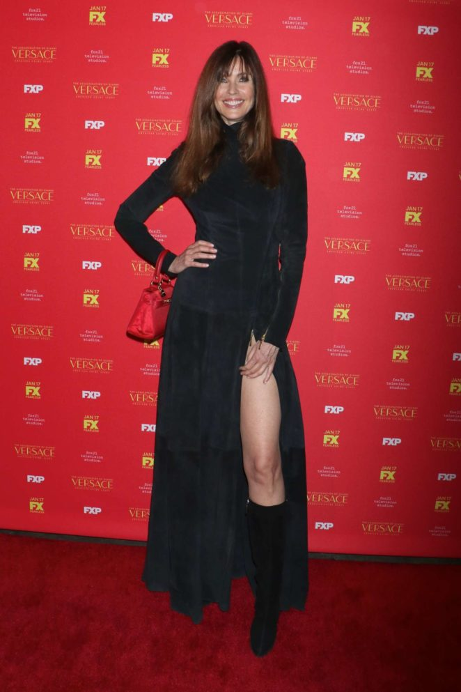 Carol Alt – 'The Assassination of Gianni Versace' Premiere in NY