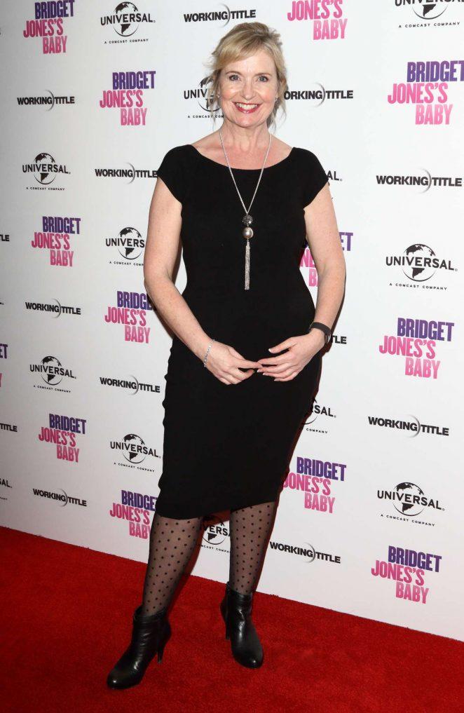 Carol Kirkwood - Bridget Jones Baby DVD Launch and Special Screening in London