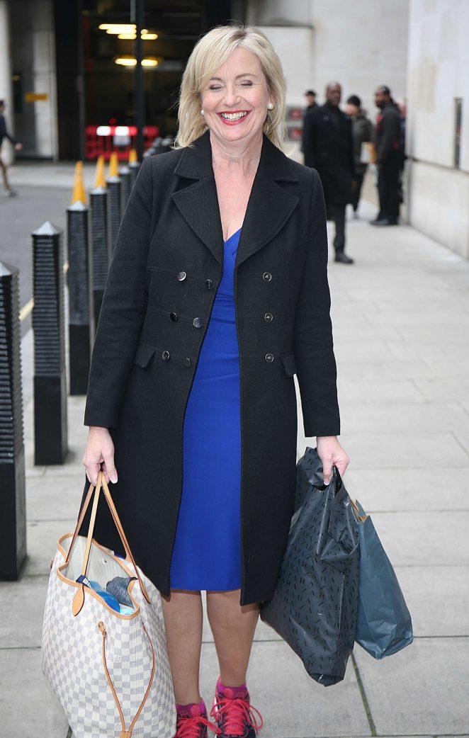 Carol Kirkwood - Leaving BBC Studios in London