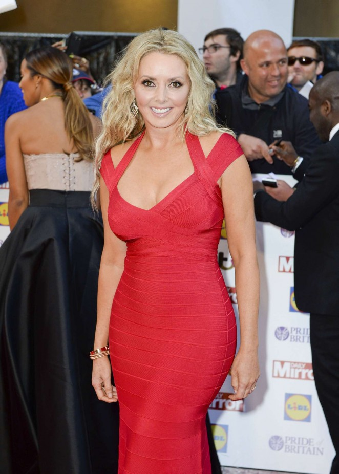 Carol Vorderman - 2015 Pride of Britain Awards in London