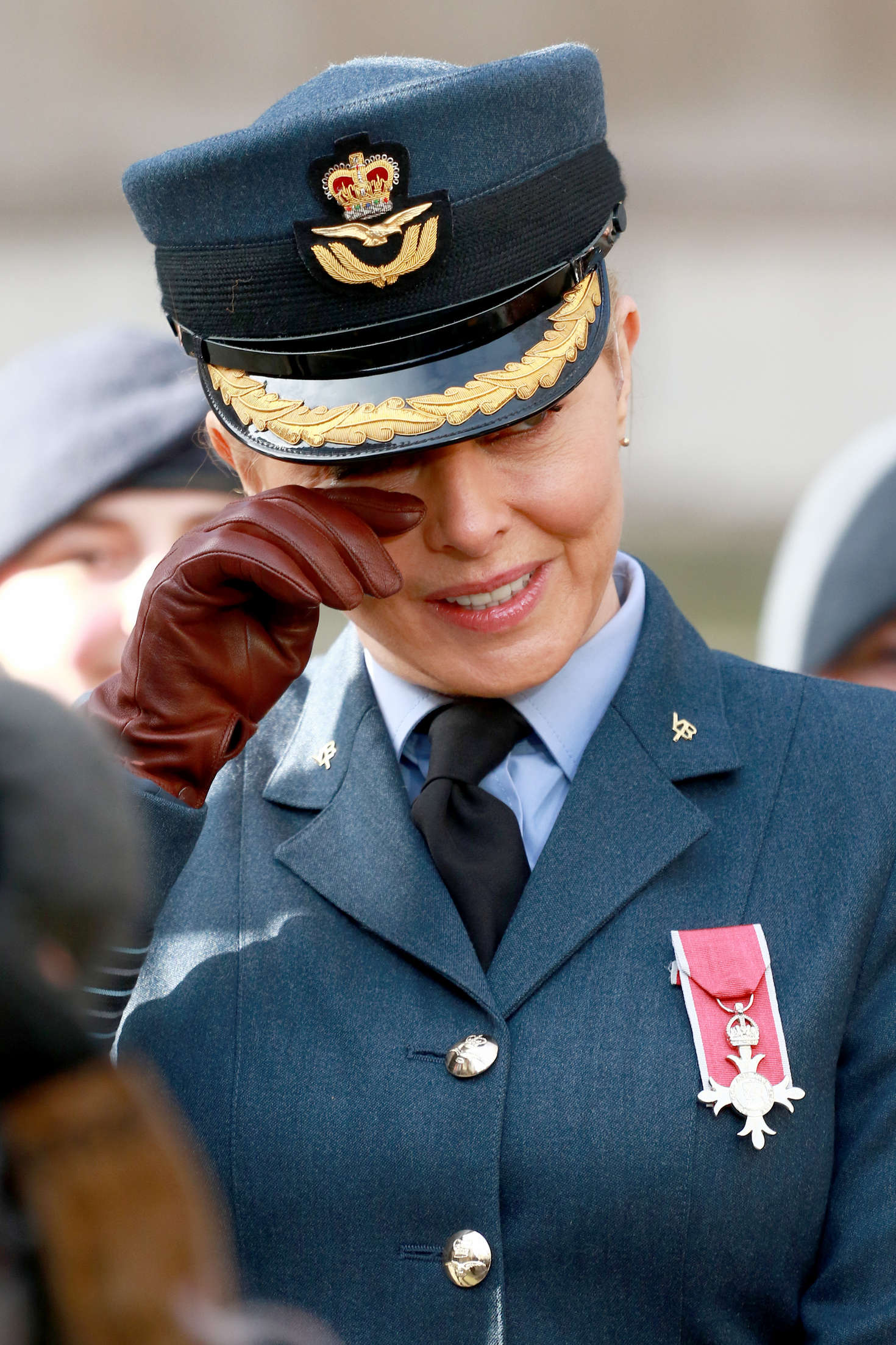 Carol Vorderman At 75th Anniversary Of The Raf Air Cadets