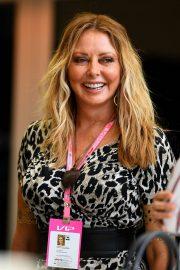 Carol Vorderman - F1 Grand Prix of Bahrain in Bahrain