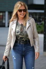 Carol Vorderman - ITV Studios in London