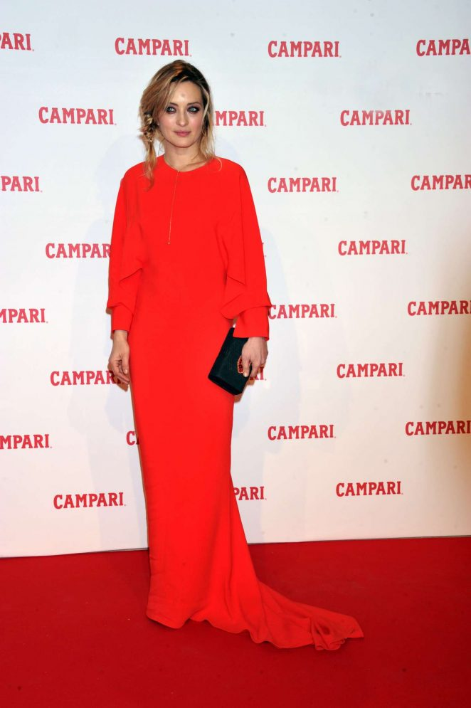 Carolina Crescentini - 'Campari Red Diaries' Photocall in Rome