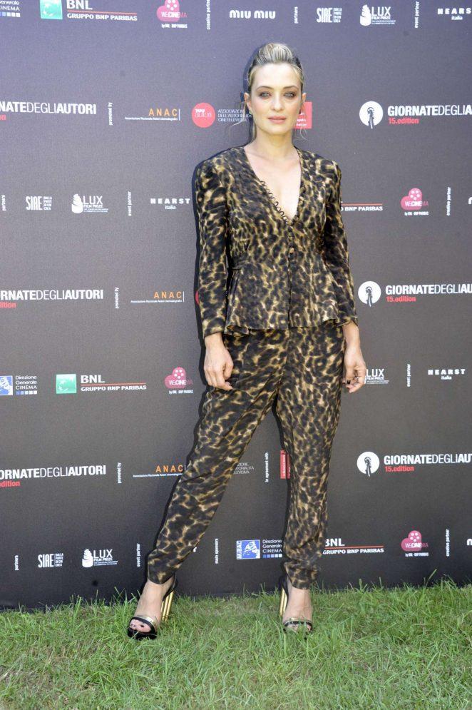Carolina Crescentini - 'Illuminate' Photocall at 2018 Venice International Film Festival in Venice