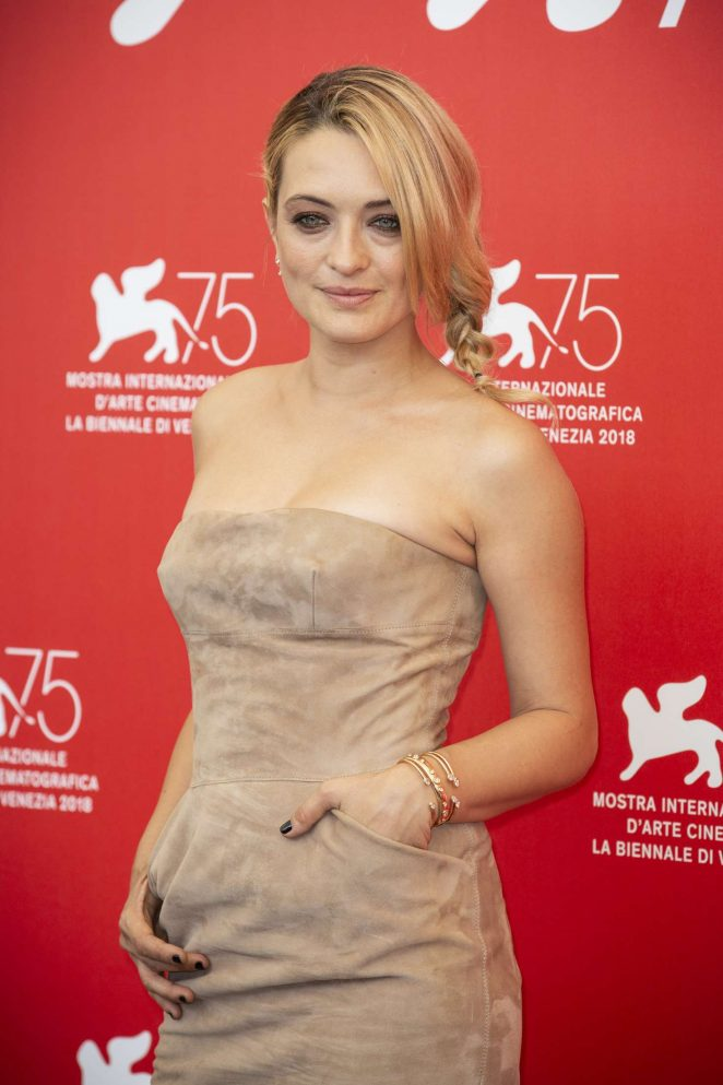 Carolina Crescentini - 'Jury' Photocall at 75th Venice International Film Festival