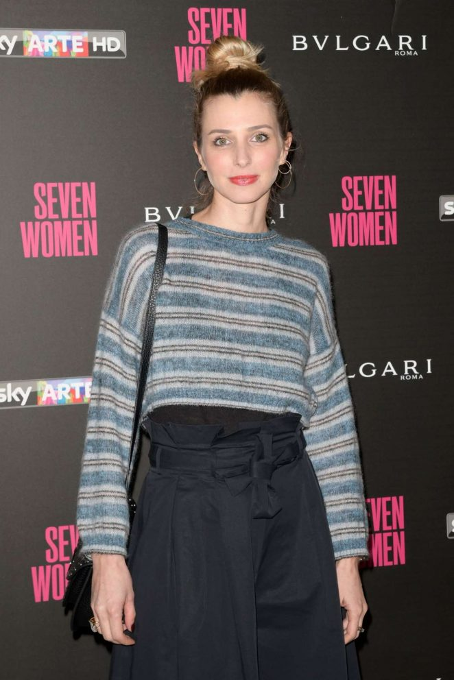 Carolina Di Domenico - 'Seven Women' Documentary Premiere in Rome