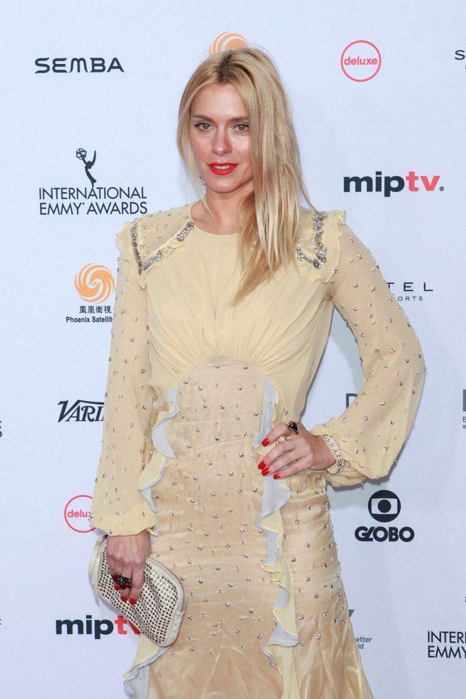 Carolina Dieckmann - 44th International Emmy Awards in New York