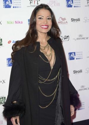 Carolina Marconi at Premio Afrodite 2016 in Rome