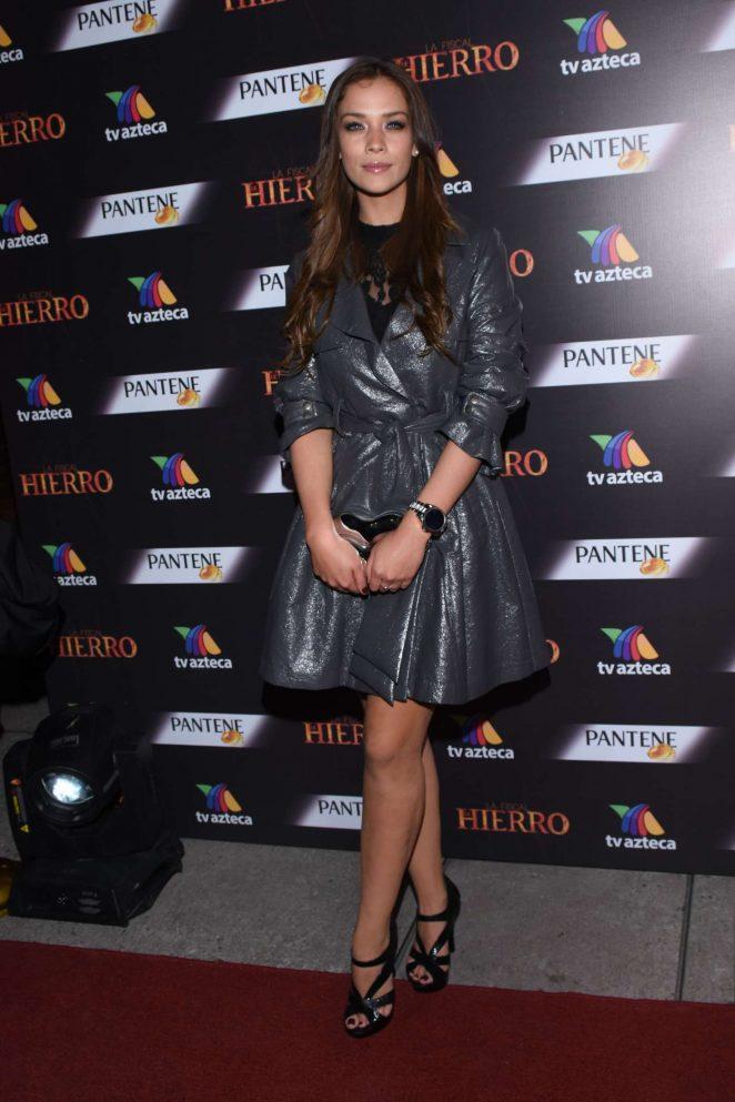 Carolina Miranda - 'Fiscal de Hierro' TV Series Premiere in Mexico City