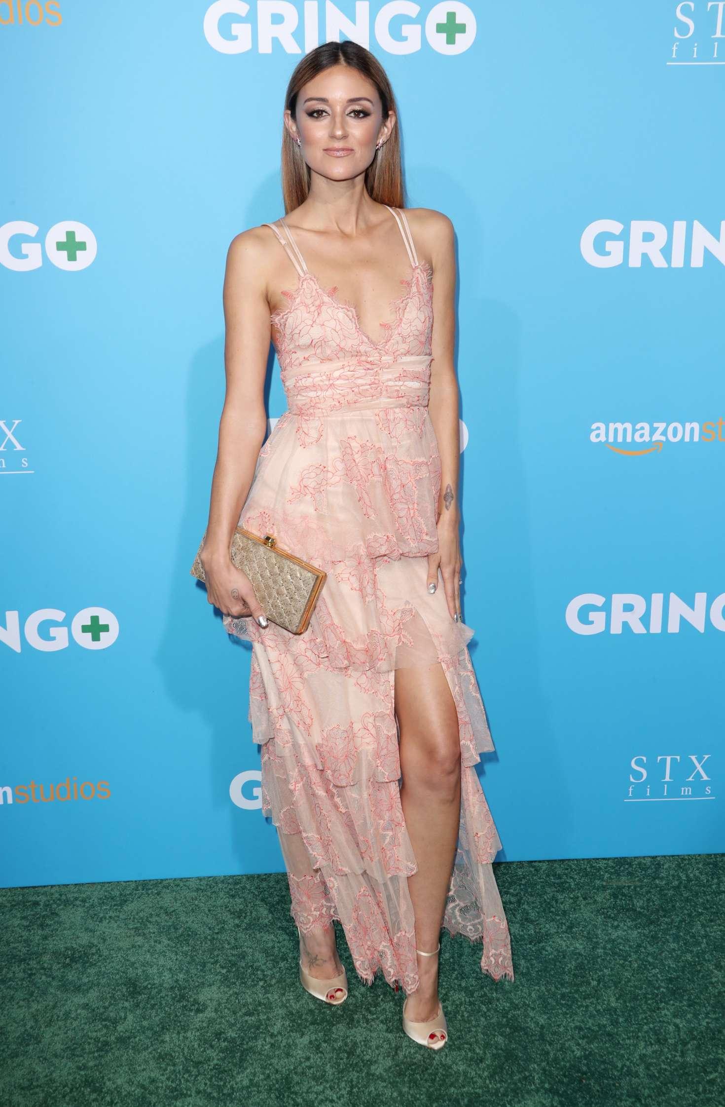 Caroline D'Amore 2018 : Caroline DAmore: Gringo Premiere in Los Angeles -09
