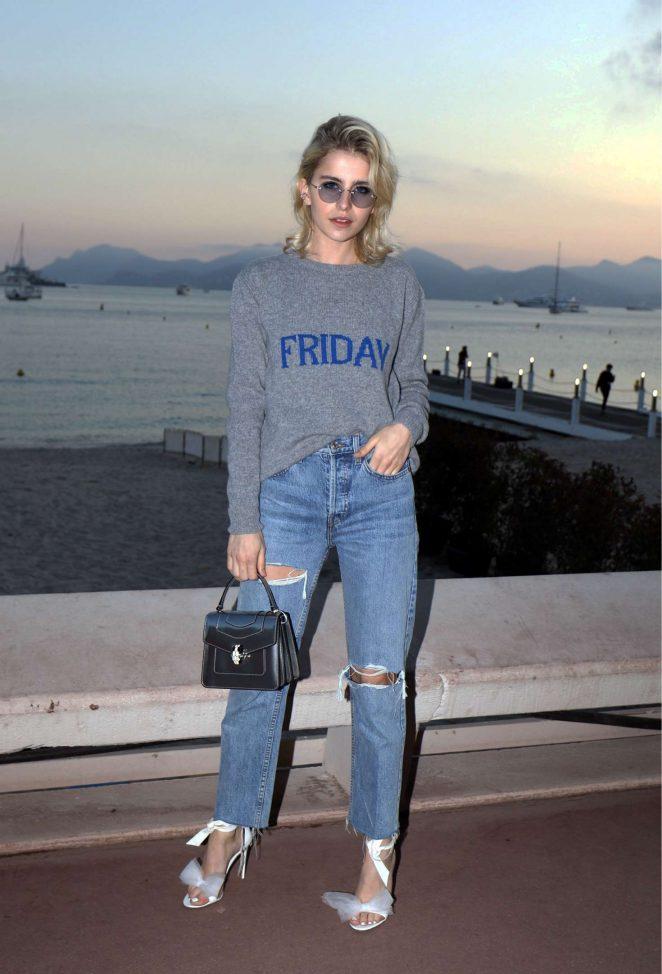 Caroline Daur at the Croisette in Cannes