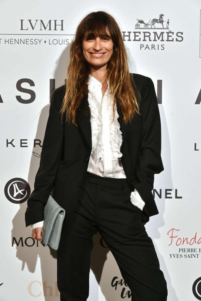 Caroline de Maigret - ANDAM Fashion Award Coktail Party in Paris