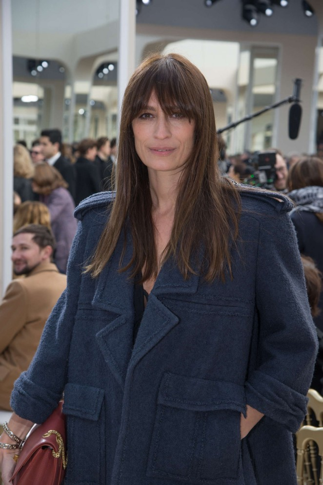 Caroline de Maigret - Chanel Fashion Show 2016 in Paris