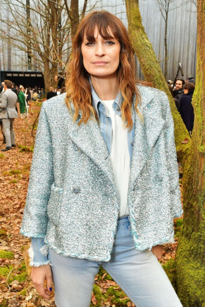 Caroline de Maigret - Chanel Fashion Show 2018 in Paris