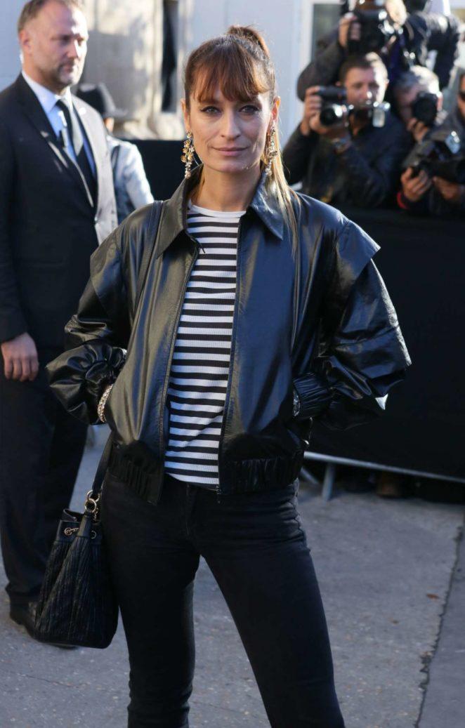 Caroline de Maigret – Chanel Fashion Show, Paris Fashion Week in Paris