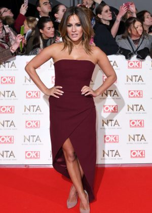 Caroline Flack - 2017 National Television Awards in London