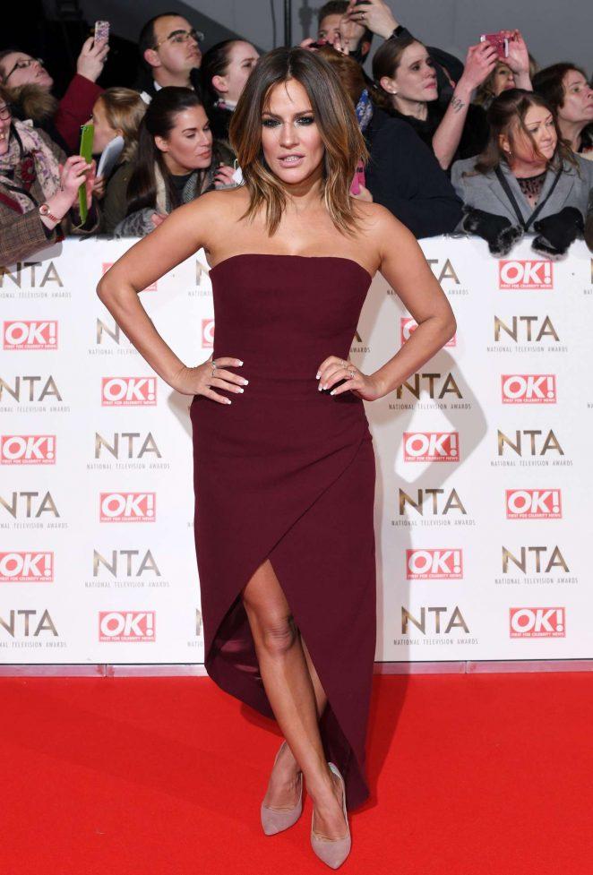 Caroline Flack - 2017 National Television Awards in London
