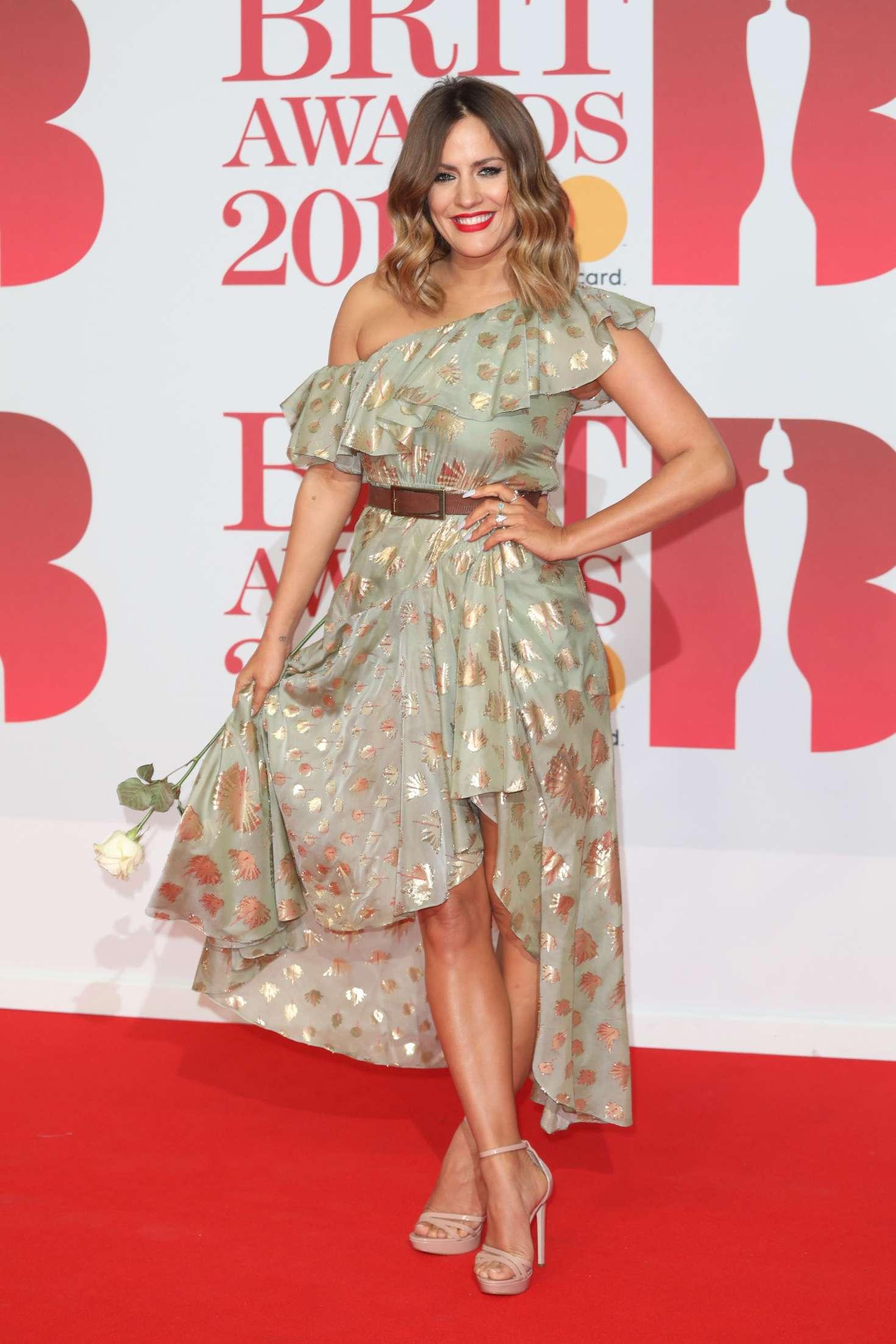 Caroline Flack - 2018 Brit Awards in London